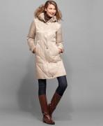 Стеганое пуховое пальто Jones New York.