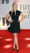 Лиз МакКларнон, фото 408. Liz McClarnon the '2011 BRIT Awards' in London, 15.02.2011, foto 408