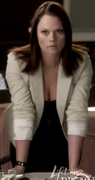 Kate Levering's bent over cleavage ... from Lifetime's DROP DEAD DIVA (4 caps)