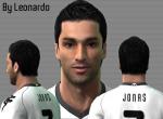 pes 2011 Jonas face By Leonardo