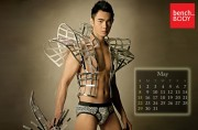 2011年度版のセクシー画像カレンダー