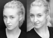 Lily Loveless (Skins UK) photoshoot N&B