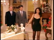 Fran Drescher---The Nanny---hot legshot DressNylons27.06.11VOX