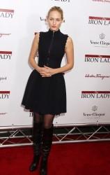 Лили Собески, фото 1181. Leelee Sobieski 'The Iron Lady' New York premiere at the Ziegfeld Theater on December 13, 2011 in New York City, foto 1181