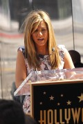 Дженнифер Анистон, фото 8653. Jennifer Aniston Inducted into the Hollywood Walk Of Fame - February 22, 2012, foto 8653