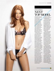 Синтии Дикер, фото 236. Cintia Dicker Men's Health Magazine September 2011, foto 236
